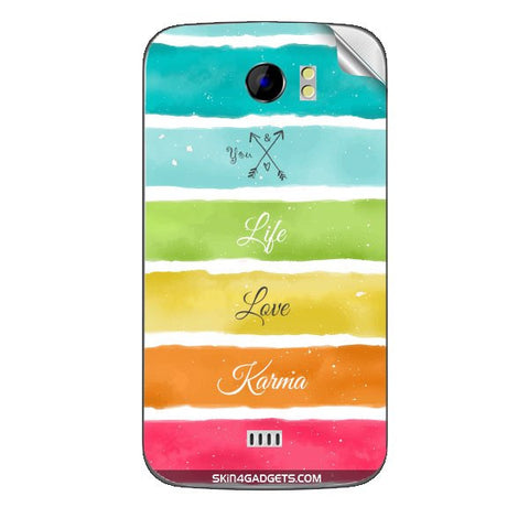 Lets Love Life For MICROMAX CANVAS 2 (A110) Skin