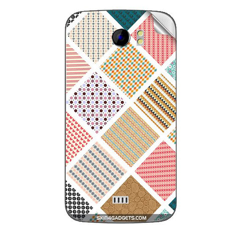 Varied Pattern For MICROMAX CANVAS 2 (A110) Skin