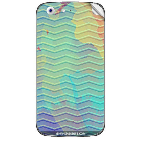 Colourful Waves For MICROMAX CANVAS 4 (A210) Skin