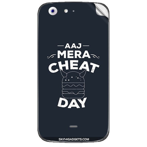 Aaj Mera Cheat Day For MICROMAX CANVAS 4 (A210) Skin