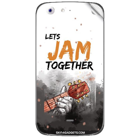 Lets Jam Together For MICROMAX CANVAS 4 (A210) Skin