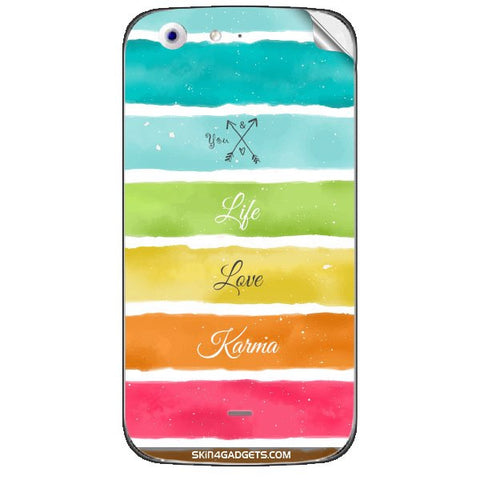Lets Love Life For MICROMAX CANVAS 4 (A210) Skin