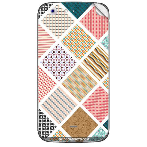 Varied Pattern For MICROMAX CANVAS 4 (A210) Skin