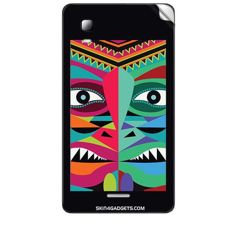 Tribal Face For MICROMAX CANVAS DOODLE3 (A102 ) Skin