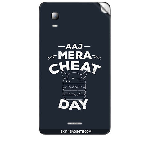 Aaj Mera Cheat Day For MICROMAX CANVAS DOODLE3 (A102 ) Skin