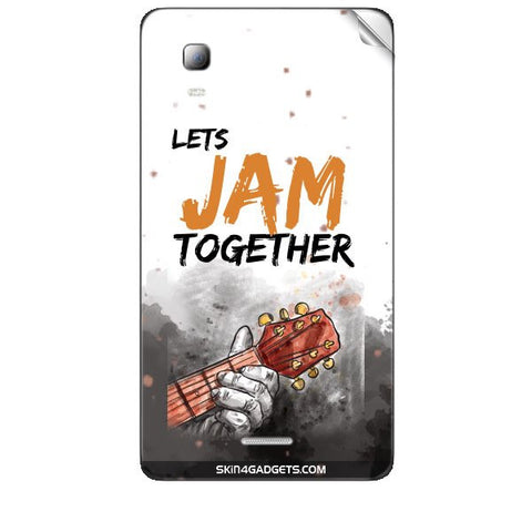 Lets Jam Together For MICROMAX CANVAS DOODLE3 (A102 ) Skin