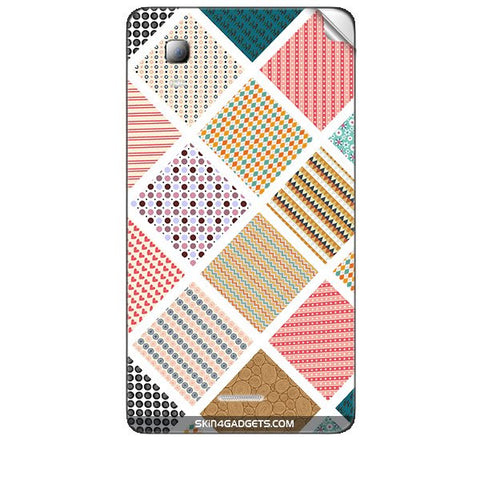 Varied Pattern For MICROMAX CANVAS DOODLE3 (A102 ) Skin