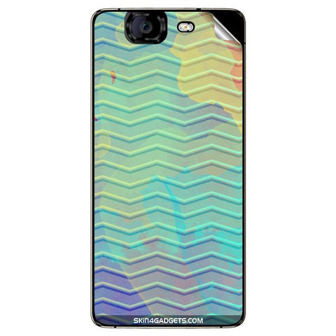Colourful Waves For MICROMAX CANVAS KNIGHT (A350) Skin