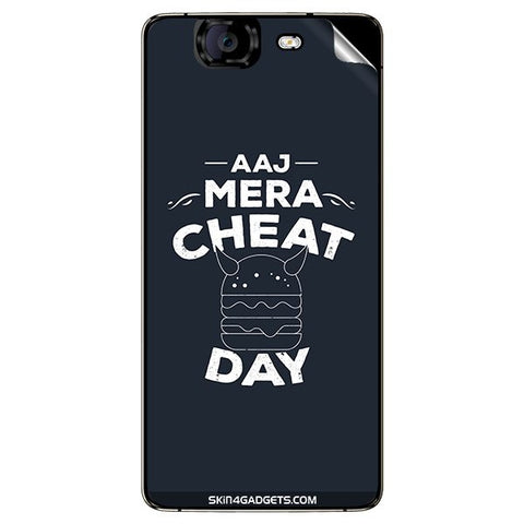 Aaj Mera Cheat Day For MICROMAX CANVAS KNIGHT (A350) Skin