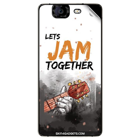 Lets Jam Together For MICROMAX CANVAS KNIGHT (A350) Skin