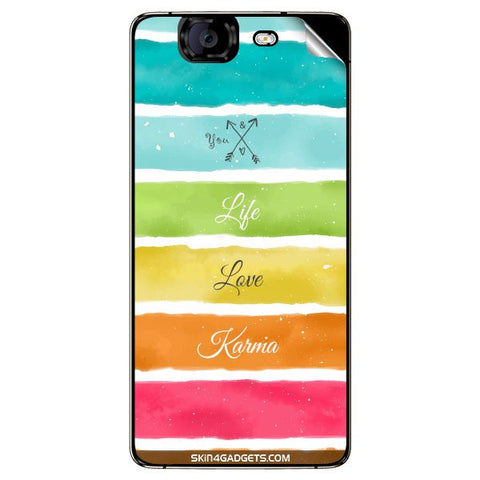 Lets Love Life For MICROMAX CANVAS KNIGHT (A350) Skin
