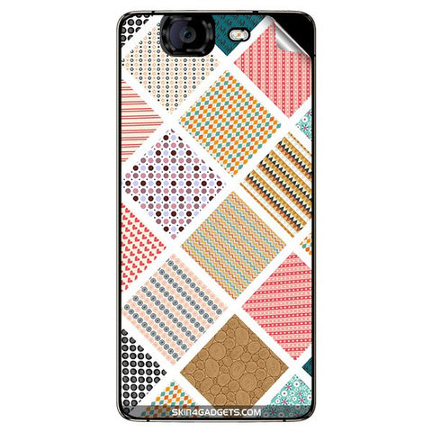 Varied Pattern For MICROMAX CANVAS KNIGHT (A350) Skin