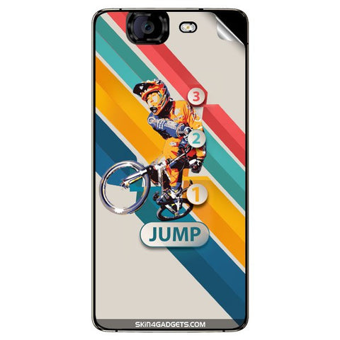 1 2 3 Jump For MICROMAX CANVAS KNIGHT (A350) Skin