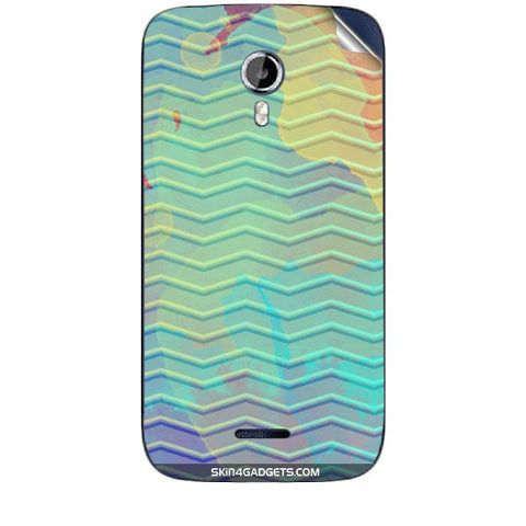 Colourful Waves For MICROMAX CANVAS MAGNUS (A117) Skin