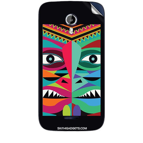 Tribal Face For MICROMAX CANVAS MAGNUS (A117) Skin