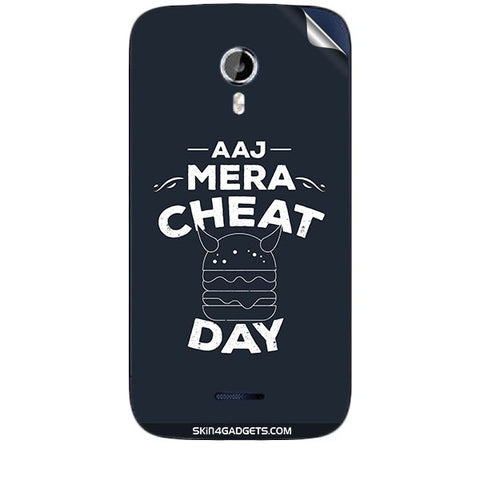 Aaj Mera Cheat Day For MICROMAX CANVAS MAGNUS (A117) Skin