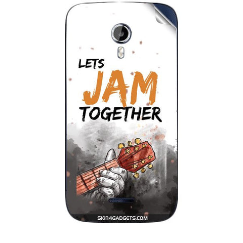 Lets Jam Together For MICROMAX CANVAS MAGNUS (A117) Skin