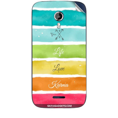 Lets Love Life For MICROMAX CANVAS MAGNUS (A117) Skin