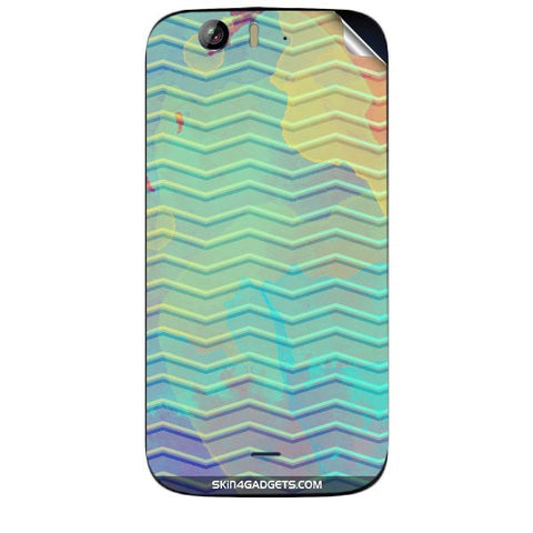 Colourful Waves For MICROMAX CANVAS TURBO (A250) Skin