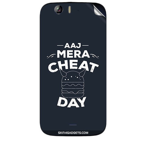 Aaj Mera Cheat Day For MICROMAX CANVAS TURBO (A250) Skin