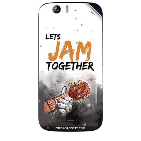 Lets Jam Together For MICROMAX CANVAS TURBO (A250) Skin