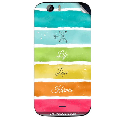 Lets Love Life For MICROMAX CANVAS TURBO (A250) Skin