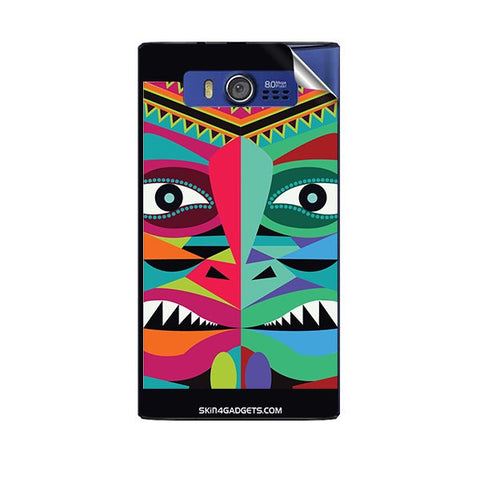 Tribal Face For MICROMAX A075 Skin