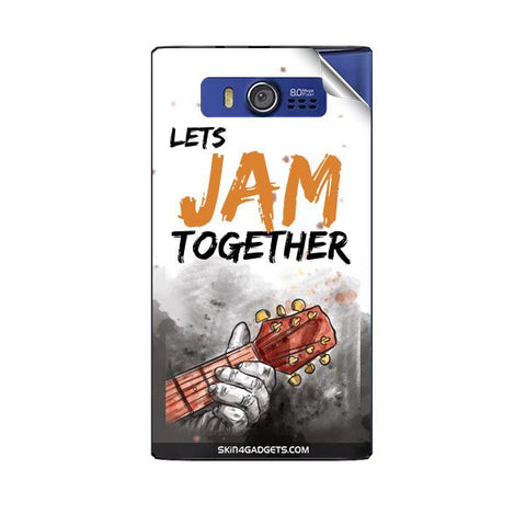 Lets Jam Together For MICROMAX A075 Skin