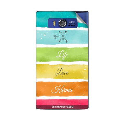 Lets Love Life For MICROMAX A075 Skin
