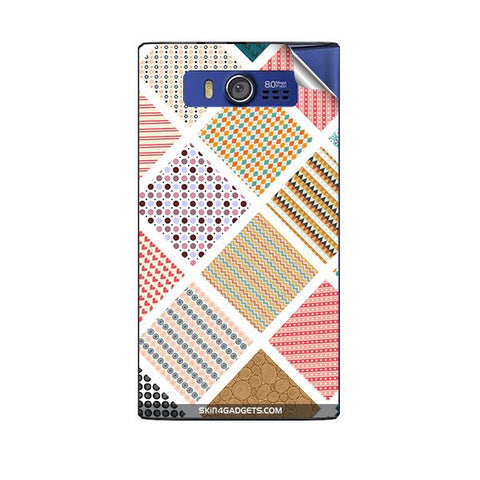 Varied Pattern For MICROMAX A075 Skin