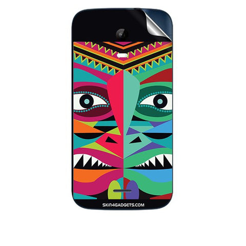 Tribal Face For MICROMAX A200 Skin