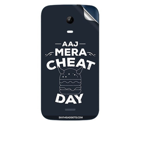 Aaj Mera Cheat Day For MICROMAX A200 Skin