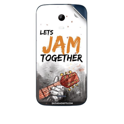 Lets Jam Together For MICROMAX A200 Skin