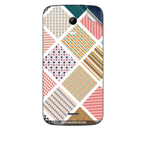 Varied Pattern For MICROMAX A200 Skin