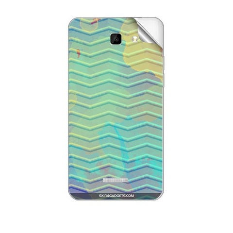 Colourful Waves For MICROMAX A109 Skin