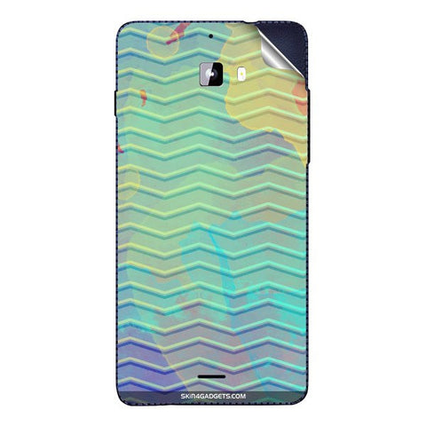 Colourful Waves For MICROMAX A310 Skin