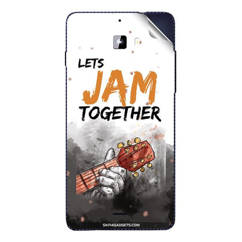 Lets Jam Together For MICROMAX A310 Skin