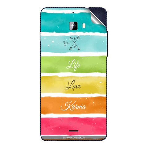 Lets Love Life For MICROMAX A310 Skin