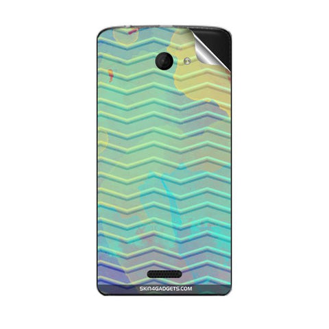 Colourful Waves For MICROMAX A121 Skin