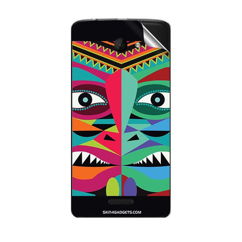 Tribal Face For MICROMAX A121 Skin