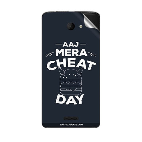 Aaj Mera Cheat Day For MICROMAX A121 Skin