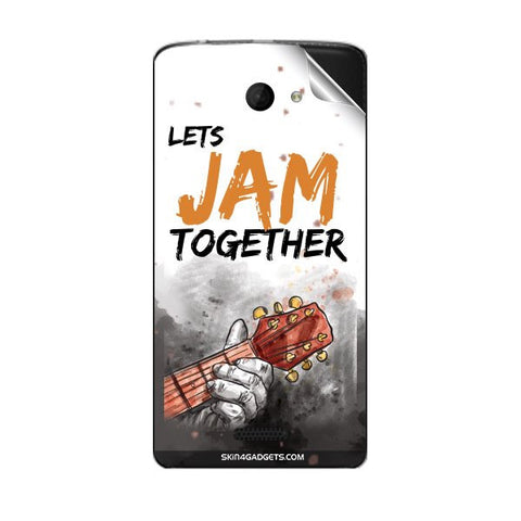 Lets Jam Together For MICROMAX A121 Skin