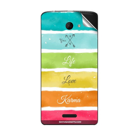 Lets Love Life For MICROMAX A121 Skin