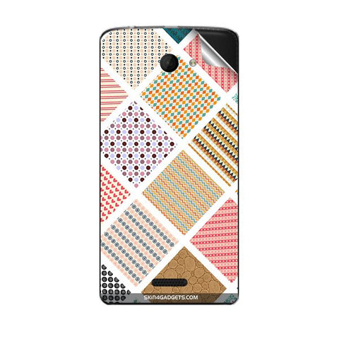 Varied Pattern For MICROMAX A121 Skin