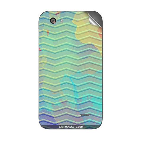 Colourful Waves For MICROMAX A59 Skin