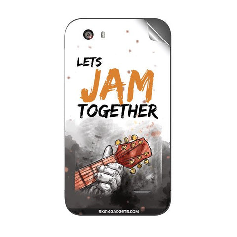Lets Jam Together For MICROMAX A59 Skin