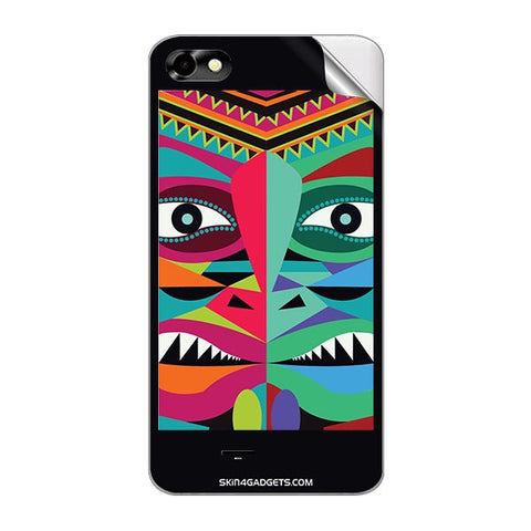 Tribal Face For MICROMAX A069 Skin