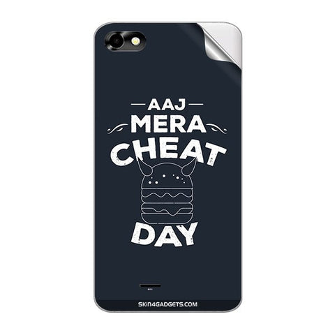Aaj Mera Cheat Day For MICROMAX A069 Skin