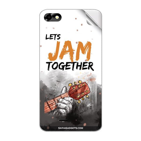Lets Jam Together For MICROMAX A069 Skin