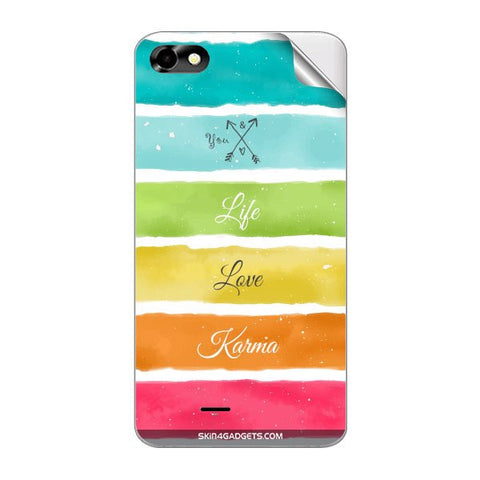 Lets Love Life For MICROMAX A069 Skin